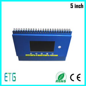 Manufacture Business Gift Use LCD Video Greeting Card pictures & photos