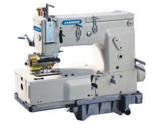 Jh-1412p Multi-Needle (8-13 needles) Flat-Bed Double Chain Stitch Sewing Machine (tuck Fabric Seaming)