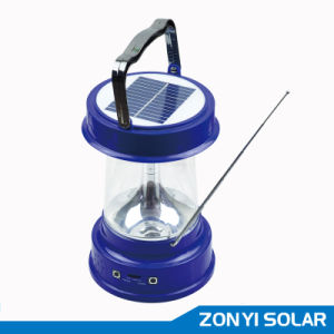 Solar Lantern (solar camping light) with Radio (ZY-03E) pictures & photos