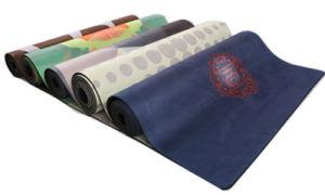 Ultra-Absorbent Microfiber Top Yoga Mat pictures & photos