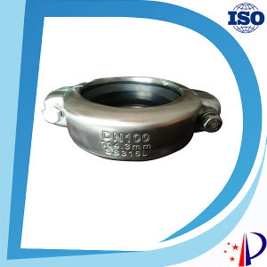 Flexible Water Pipe Sleeve Quick Release Hydraulic Grooved Coupling pictures & photos