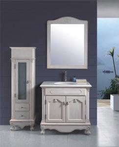 "Fancy 36 "" Granite Top Wood Bathroom Vanity Cabinet pictures & photos"