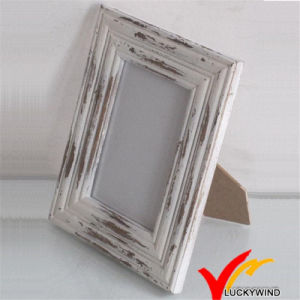 White Wash Distressed Wood Shabby Chic Photo Frame pictures & photos