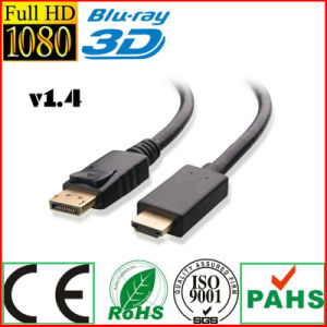 HDMI to HDMI Cable with Latches for PC to TV (SY122) pictures & photos