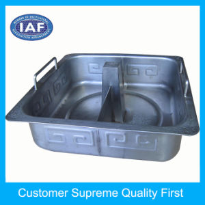 Custom Punch Two-Flavor Hot Pot Metal Stamping Mould pictures & photos