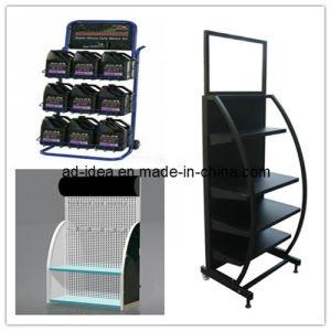 Metal Display Rack, Engine Oil Display Shelf, Display Stand (RACK-08) pictures & photos