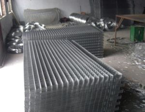 Galvanized Garden Steel Fence /Welded Wire Mesh for Building Used pictures & photos