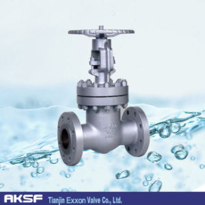 DIN Stainless Steel/ Carbon Steel Flange Gate Valve pictures & photos