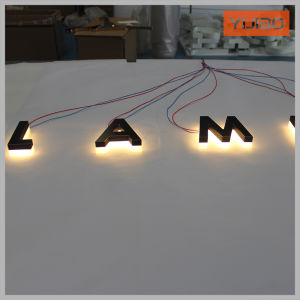 Waterproof LED Backlit Acrylic Signage Logo pictures & photos