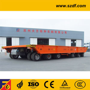 Self-Propelled Hydraulic Platform Trailer (DCY430) pictures & photos
