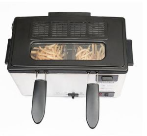 3L Manual Control Stainless Steel Housing Electric Deep Fryer for Chicken pictures & photos