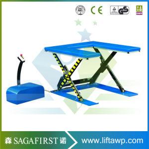 2000kg 2ton Stationary Scissor Lift Furniture Platform pictures & photos