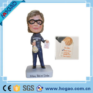 2016 America Compaign Looklife Resin Figurine Hillary Clinton Bobble Head pictures & photos