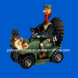 Polyresin Turkey Birds of Motor Cartoon Crafts pictures & photos