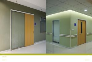 Interior Hospital Door in Foshan Wood Door Factory pictures & photos