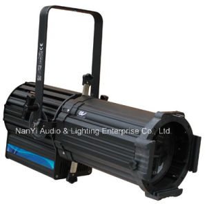 160W RGBW Full-Color LED Profile Spotlight for Theatre