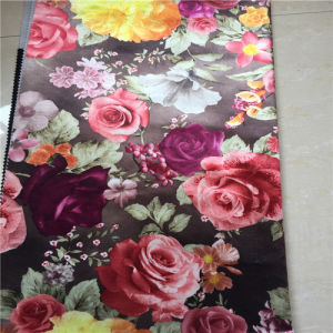 100% Polyester Print Fabric From Manufacturer pictures & photos