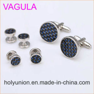 VAGULA Quality New Brass Gemelos Cufflinks Collar Studs in 6PCS Set (294) pictures & photos