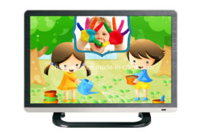 22 Inch Shape AC DC 12V Television Wide Screen 16: 9 LCD LED TV with Tempered Glass