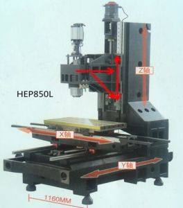 Vertical Milling Machine for Metal Mold Making (HEP850M) pictures & photos