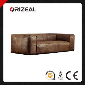 Orizeal Fulham Genuine Top Grain Leather Sofa (OZ-LS-2027) pictures & photos
