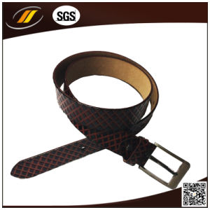 Men′s Cool Pin Buckle Genuine Leather Belt (HJ3002)