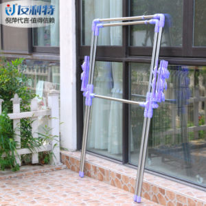 Stainless Steel Extendable X-Type Clothes Drying Hanger pictures & photos