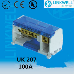 China Manufauture Hot Selling Distribution Terminal Blocks UK207 pictures & photos