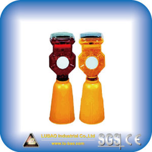 Lb-1438 Solar Warning Lamp for Road Safety