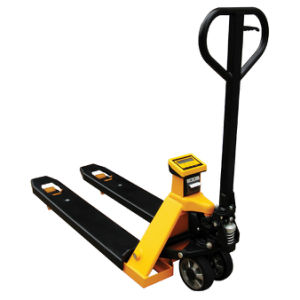 Mobile Weighing Pallet Truck with Ravas Scale pictures & photos