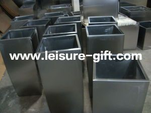 Fo-9034 Stainless Steel Square Garden Flower Planter Pot pictures & photos