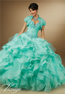 2017 New Hot Colorful Ball Gown Prom Dress, Customized pictures & photos