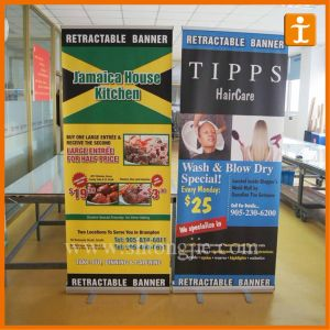 Custom Printed Aluminum Roll up Stand (TJ-10) pictures & photos