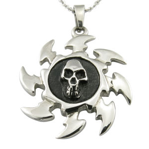 Unisex Skull Antique Silver Pendant pictures & photos