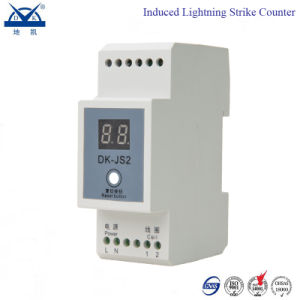 2 Digits Inductive Lightning Strike Event Counter with Reset Button pictures & photos