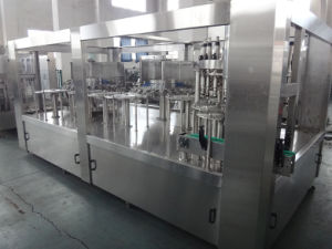 Bottle Soft Drink Carbonated Water Filling Machinery pictures & photos