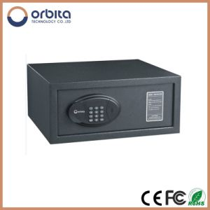 Electronic Biometric Stainless Steel Hotel Safe, Pure Steel Deposit Safe Box pictures & photos