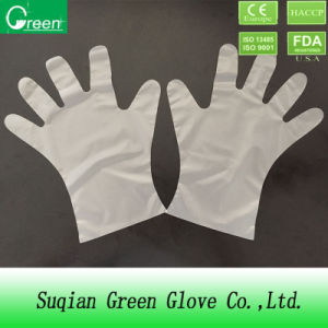 Clear Cheap Disposable Plastic Polyethylene PE Gloves for Medical Use pictures & photos