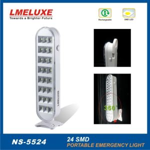24 PCS 5050 SMD LED Rechargeable Emergency Light pictures & photos