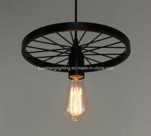 Retro-Style Wheel Pendant Lamp/Classical Pendant Light pictures & photos