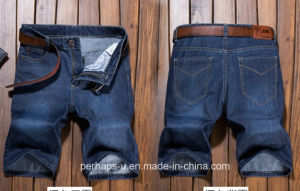 High Quality Men Clothes Loose Casual Denim Jeans Shorts pictures & photos