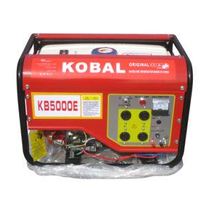Kobal 2kw Best Qaulity Electric Start Petrol Generator (JJ5000) pictures & photos