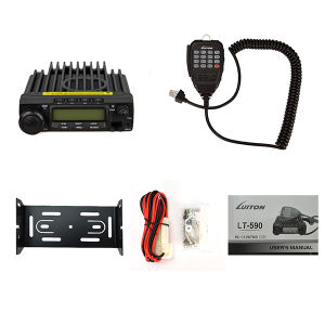 Vehicle Mounted Walkie Talkie Lt-590 FM Wireless Intercom Two-Way Radio pictures & photos