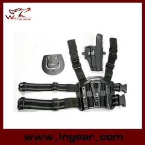 Tactical Airsoft Drop Leg Holster with Mag Holder for P220/P226 pictures & photos