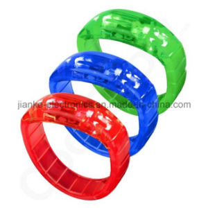 2016 Party Supply LED Flashing Bracelet with Logo Printing (4011) pictures & photos