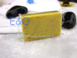 Handmade Bath Toilet Oatmeal Soap for Hotel pictures & photos