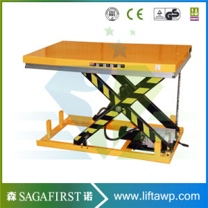 Fixed on Ground Industrial Vehicle Lift Hydraulic Electric Lifters pictures & photos