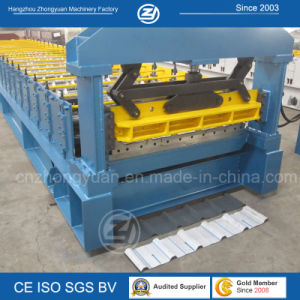 ISO Roofing Panel Roll Forming Machine pictures & photos