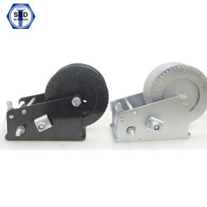2000lbs Hand Winch Zinc Plated High Quality pictures & photos