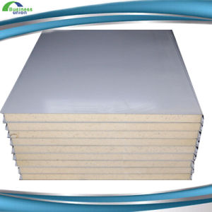 PU Polyurethane Foam Sandwich Panel Manufacturer pictures & photos